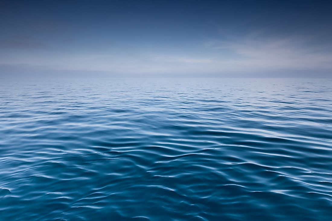 Low Oxygen Zones are found in several areas of the world's oceans.