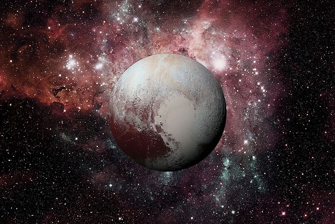 Pluto sits within the Kuiper Belt.
