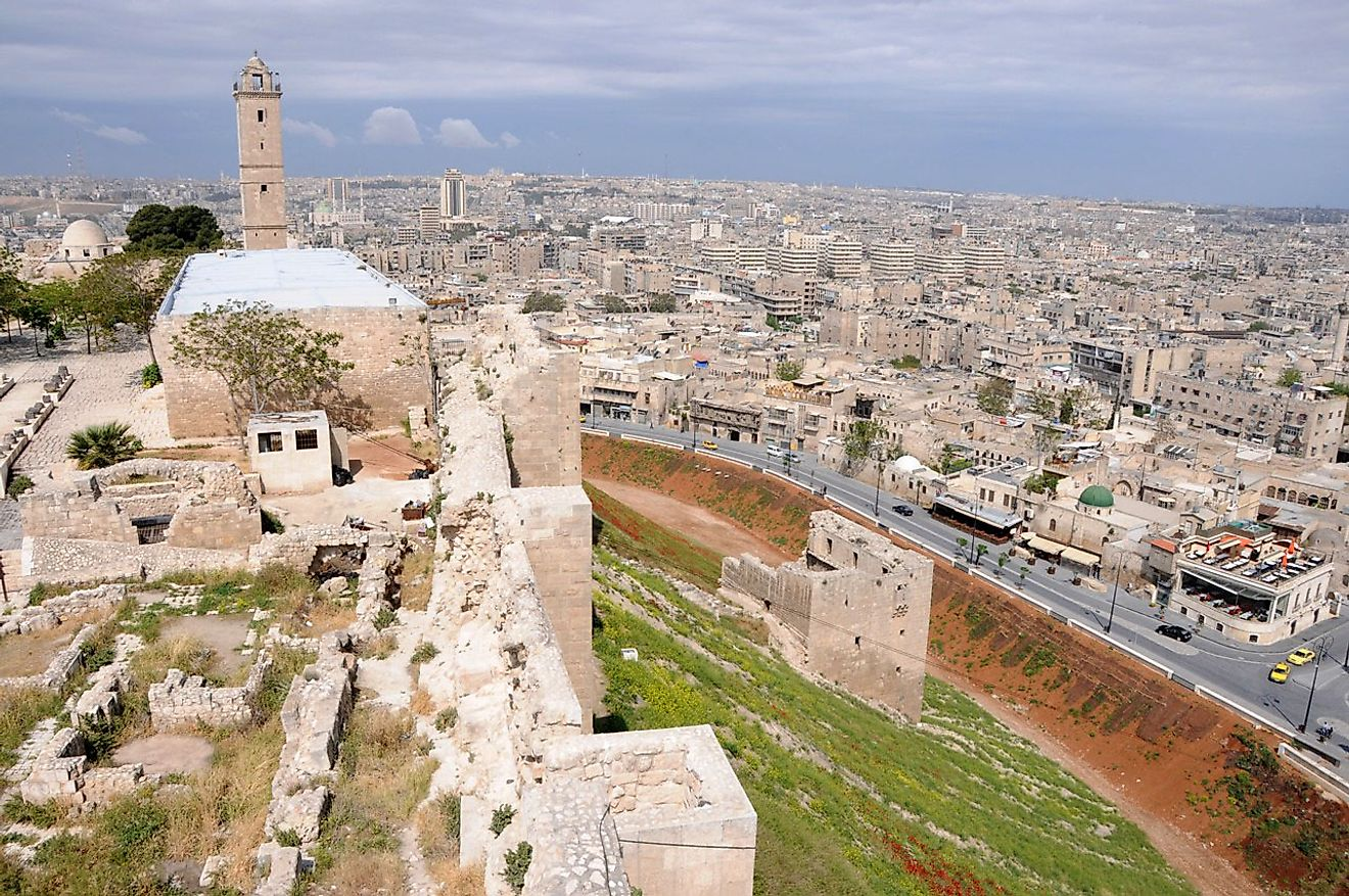 The Ancient City of Aleppo in Syria, a World Heritage Site in danger.