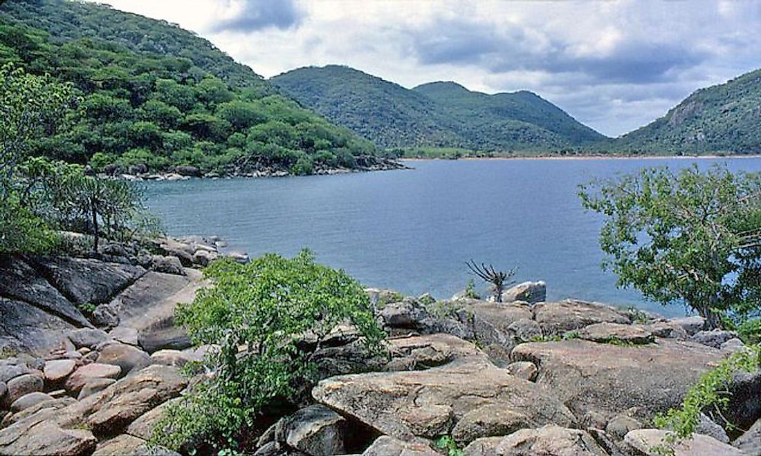 Lake Malawi, one of the African Great Lakes, is a meromictic lake located in Africa.