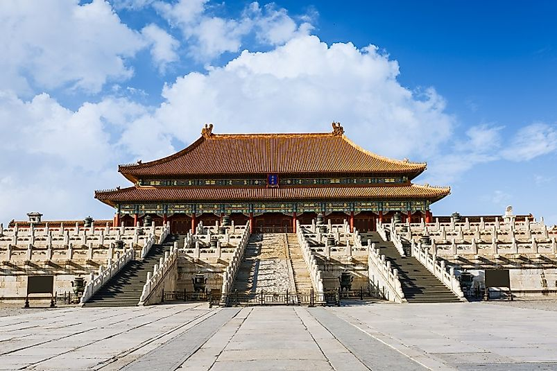 The most visited museum in the world is that in the Royal Palace, found in Beijing, China's Forbidden City.