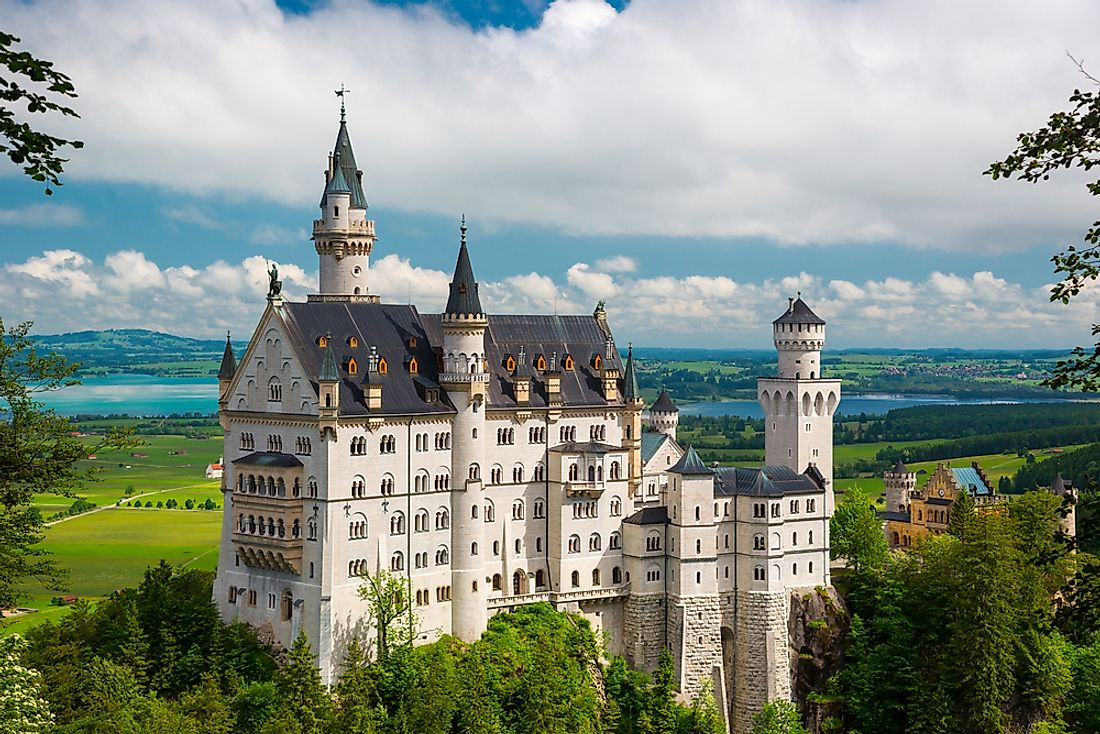 The famous Neuschwanstein Castle.