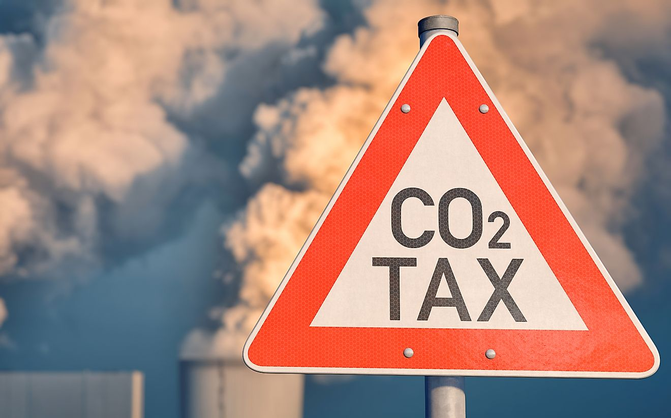 The implementation of a carbon tax is controversial.