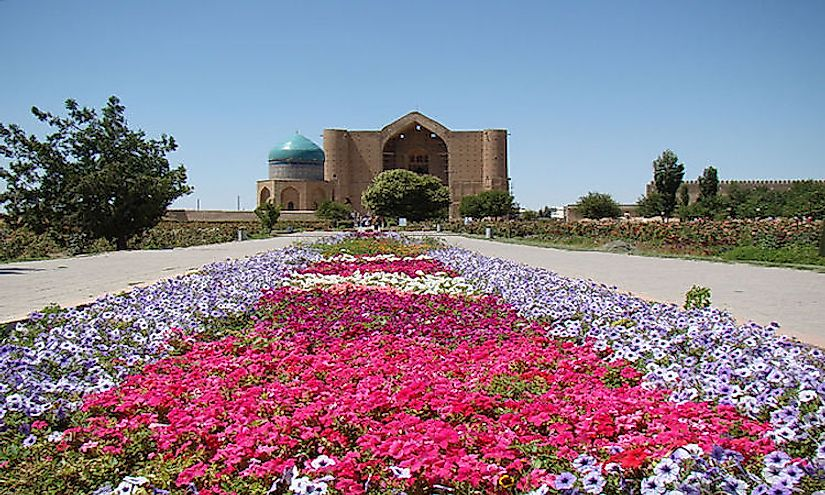 Khoja Ahmed Yasawi Mausoleum, a UNESCO World Heritage Sites In Kazakhstan