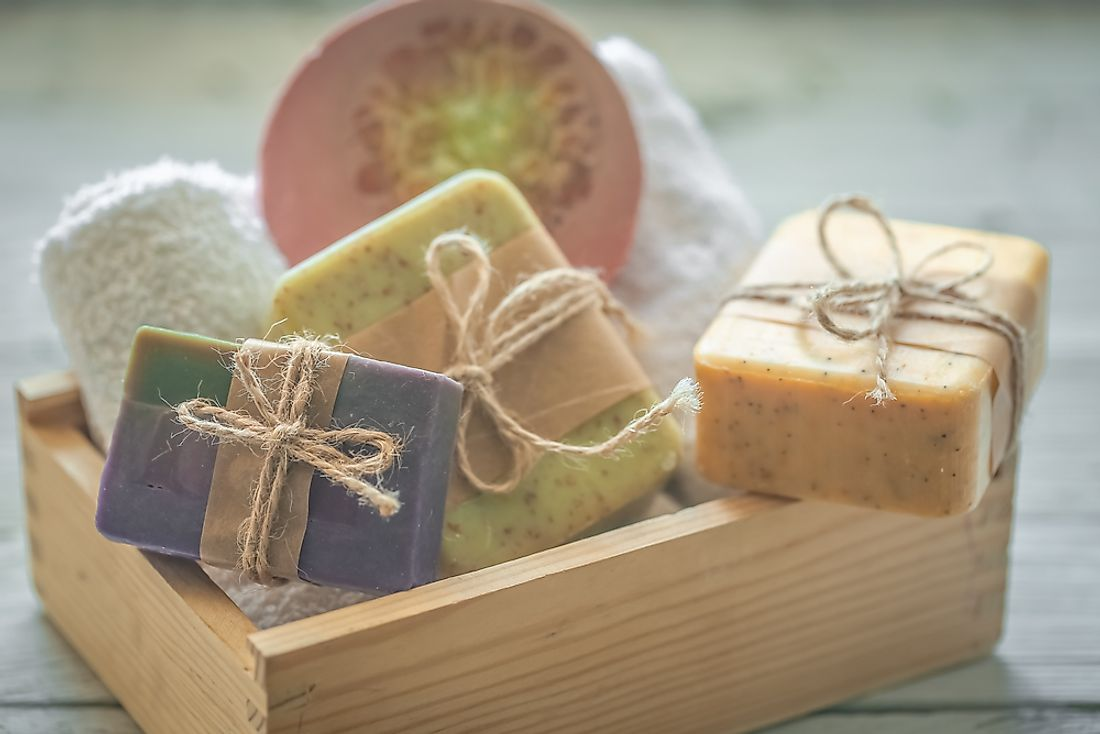Soap is used for personal care, cleansing, and in the cosmetic sector.
