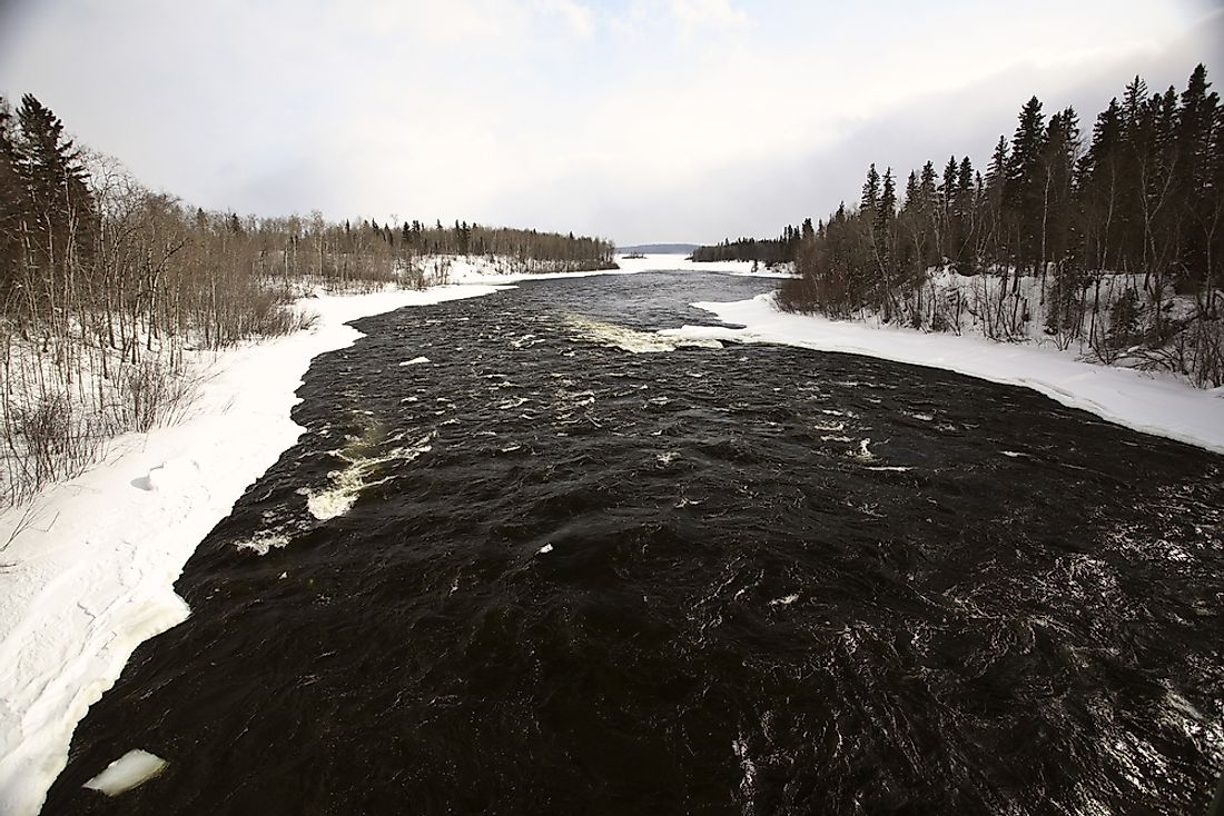 The Churchill River.