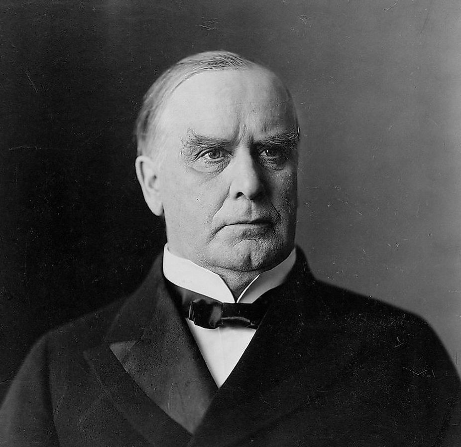 William McKinley, 25th US President