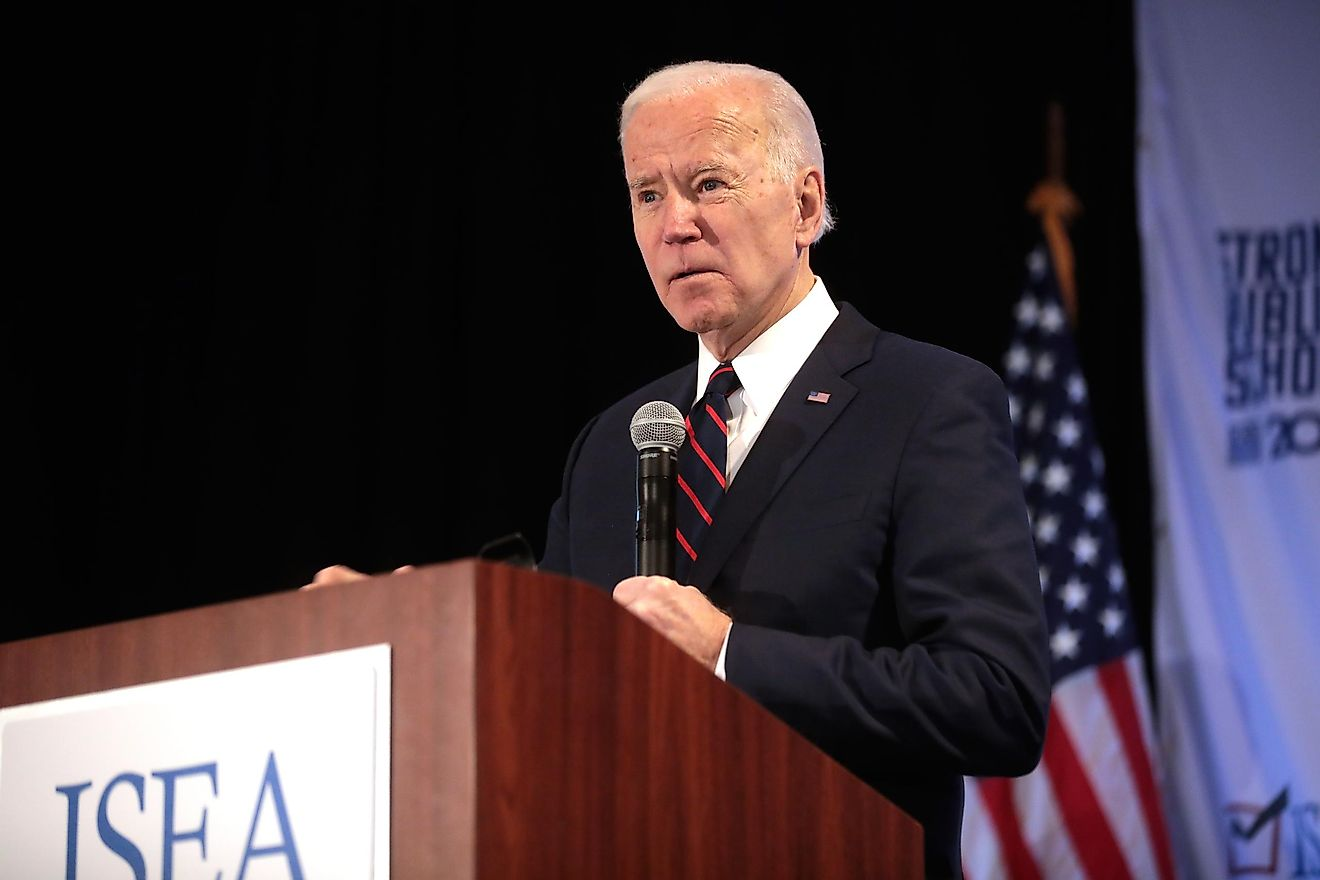 Joe Biden is the frontrunner for the Democratic nomination.