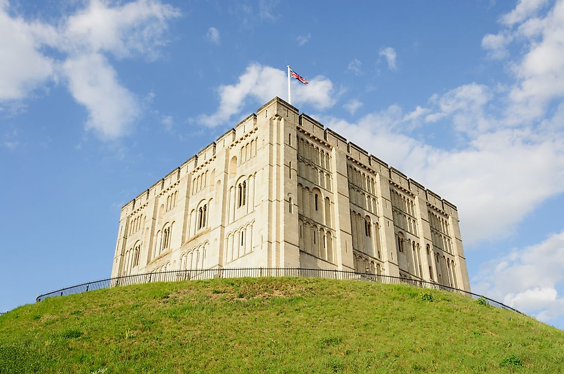 Norwich Castle, one of the oldest in England.