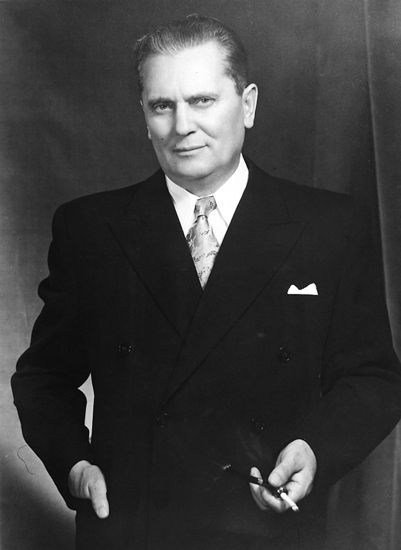 Marshal Tito, the President of the Federal People's Republic of Yugoslavia, who came to India on December 16, 1954. Image credit: Photo Division, Ministry of Information & Broadcasting, Government of India/Public domain