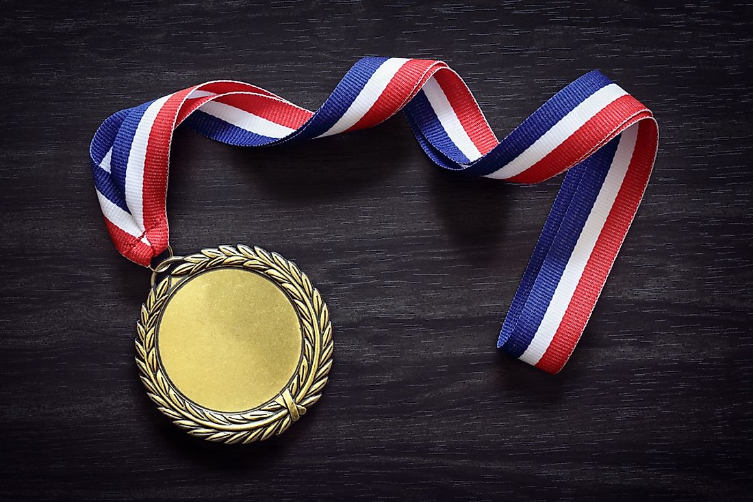 The gold medal is the highest wonder that can be won at the Olympic games.