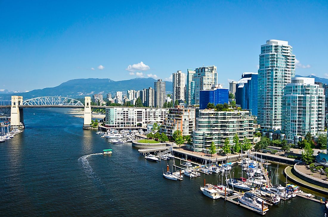 A view of Vancouver, British Columbia, Canada.