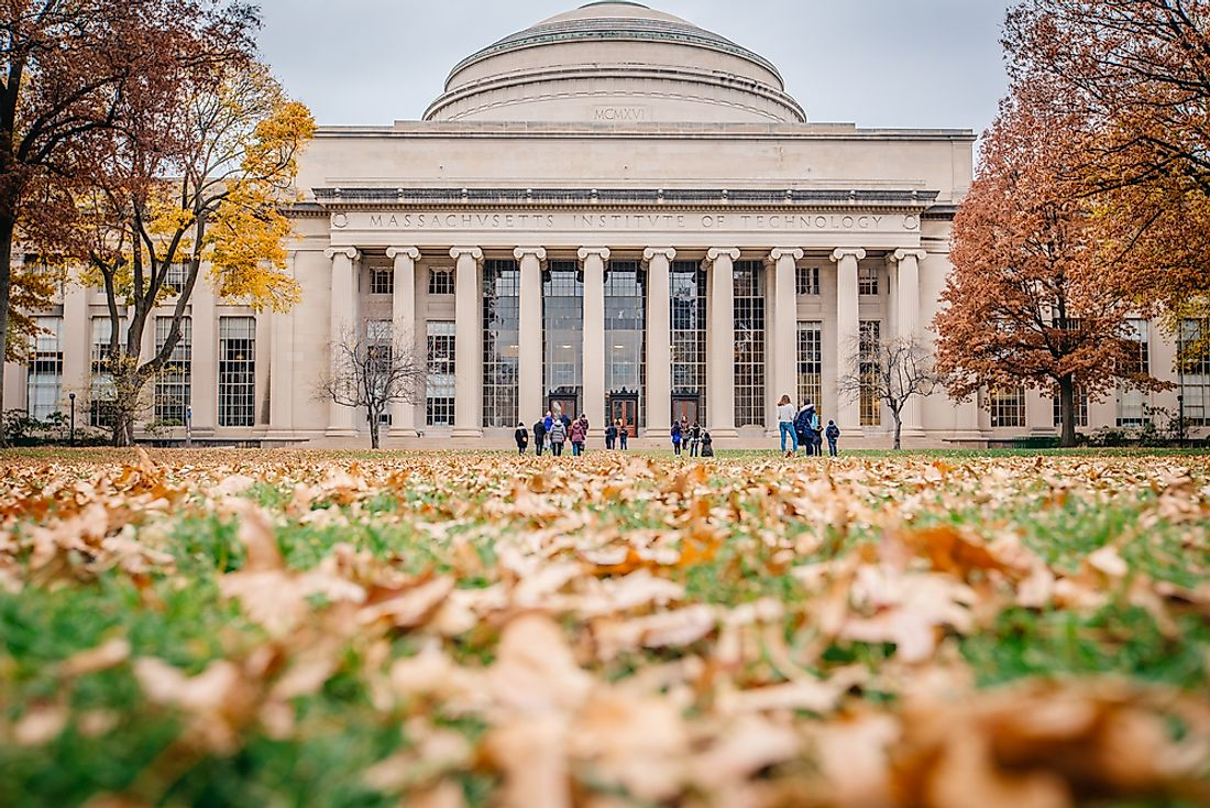MIT, or the Massachusetts Institute of Technology, is one of the most famous schools for engineering in the world. Editorial credit: Paper Cat / Shutterstock.com.