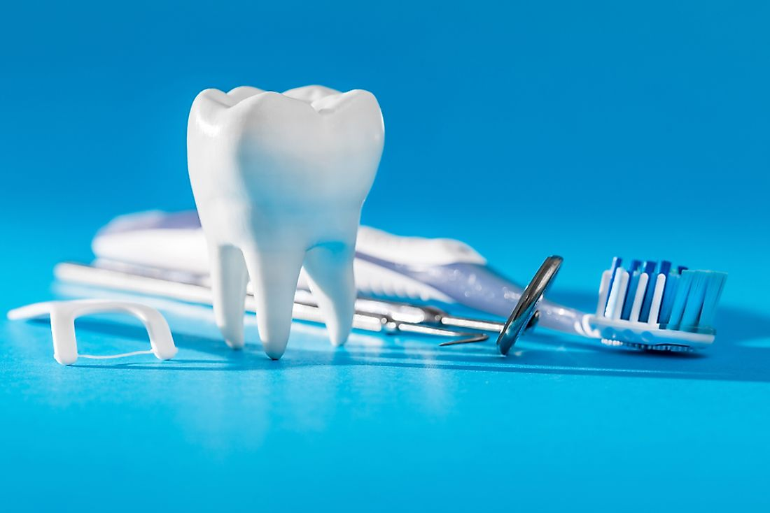 There is a large market for dentistry in some areas of the world.