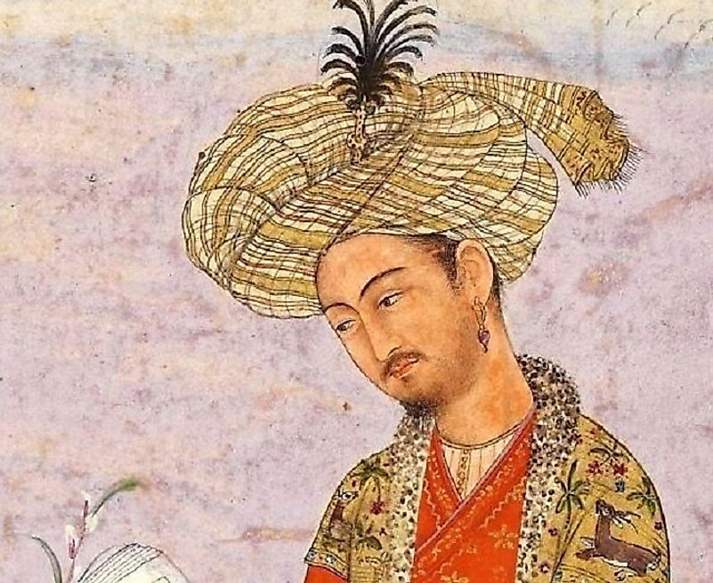 Babur Badishah, first and founding Emperor of the Mughal Empire and direct descendant of Genghis Khan.