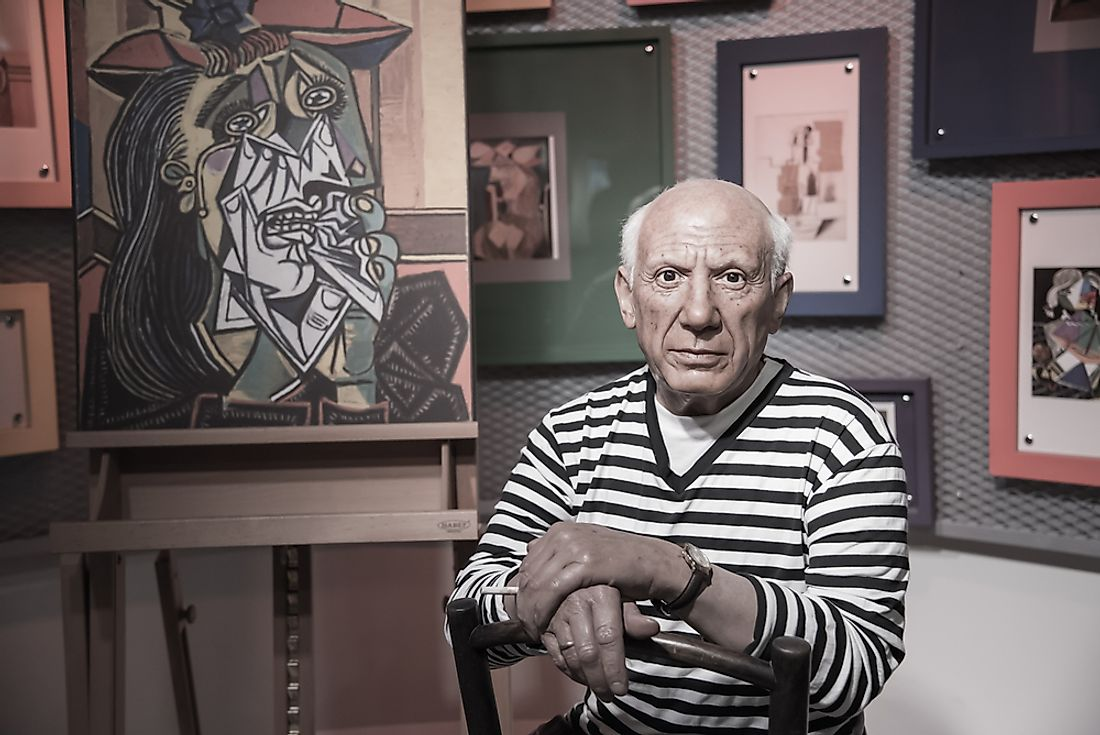 Pablo Picasso is considered to be one of the world's greatest painters.  Editorial credit: Bangkokhappiness / Shutterstock.com