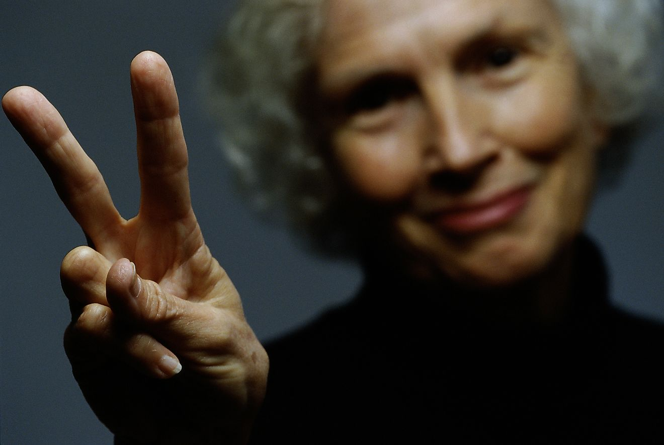 The V sign, victory sign, or simply peace sign, is one of the most popular symbols for peace in the world.