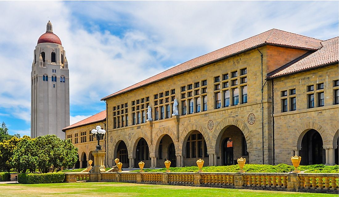 Stanford was one of the lowest acceptance rates of US universities. Editorial credit: jejim / Shutterstock.com