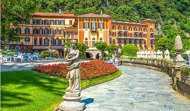 The gardens of Villa D'Este, Italy.