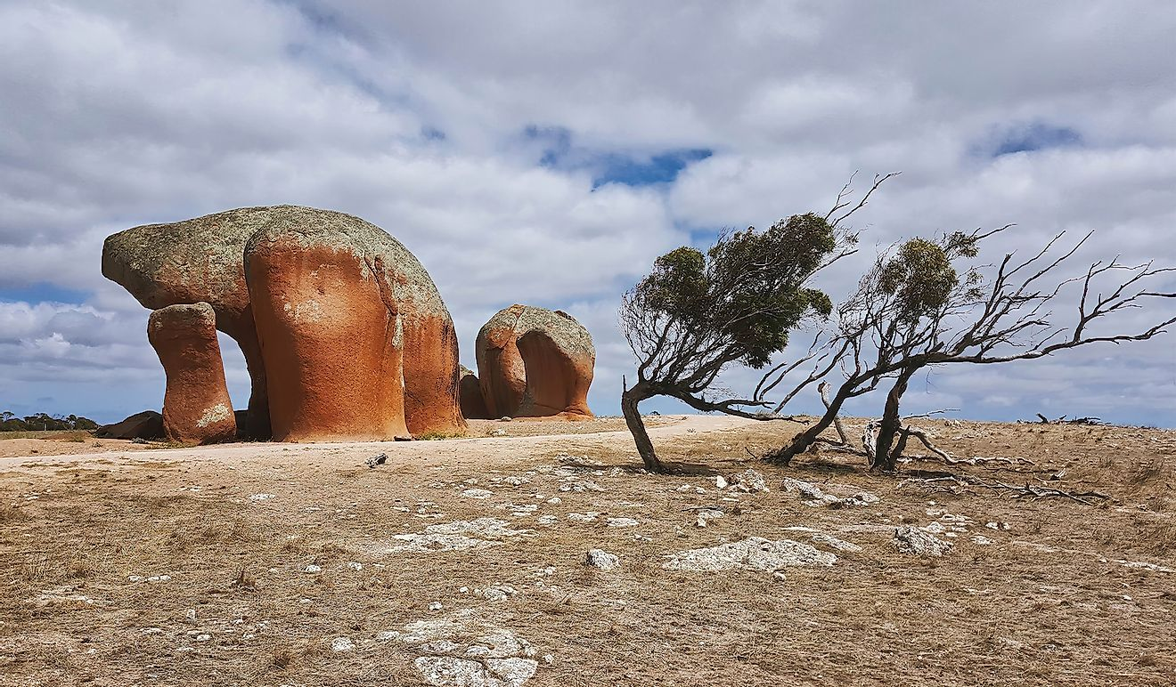 Murphys Haystack in South Australia. Image credit: electra/Shutterstock.com