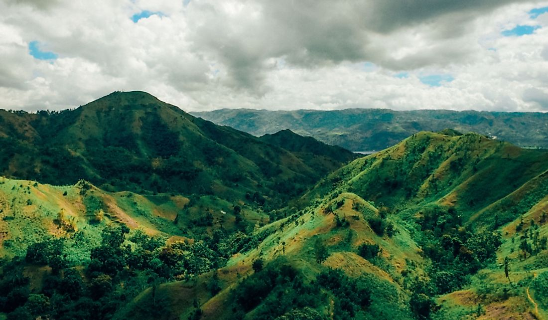 Mountains of Haiti.