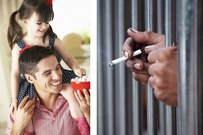 "Giving sweets to children or cigarettes to prisoners for good behavior are often viewed as non-monetary ""tokens""."