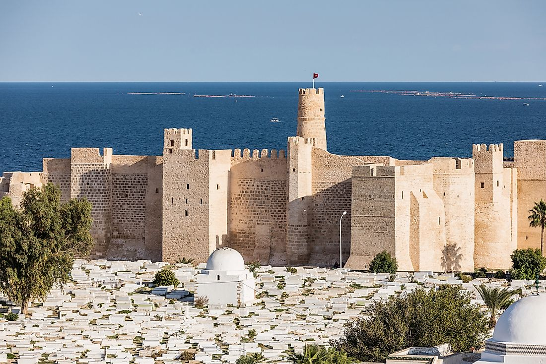 The Ribat in Monastir, Tunisia