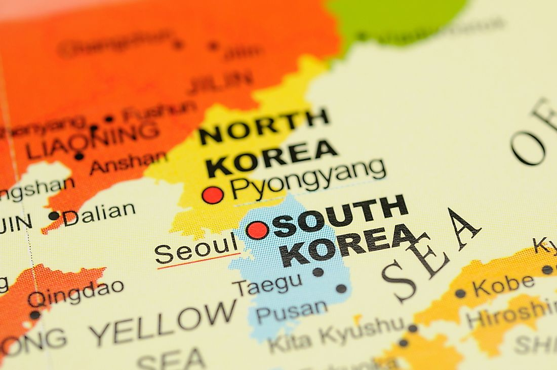 North Korea and South Korea both oppose the legitimacy of the other state.