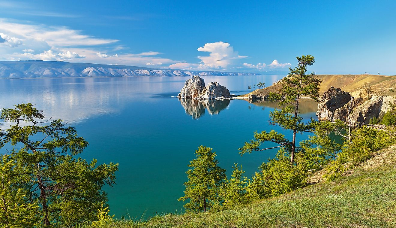 Lake Baikal in Russia is the deepest lake in the world. Image credit: Katvic/Shutterstock