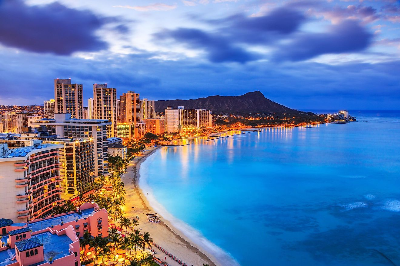 Skyline of Honolulu, Hawaii. Image credit: emperorcosar/Shutterstock