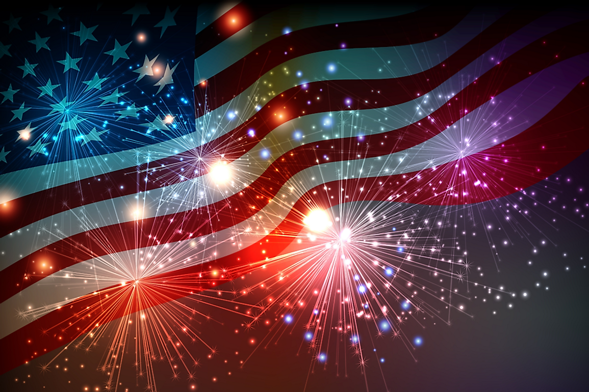 American independence is celebrated on July 4th every year.