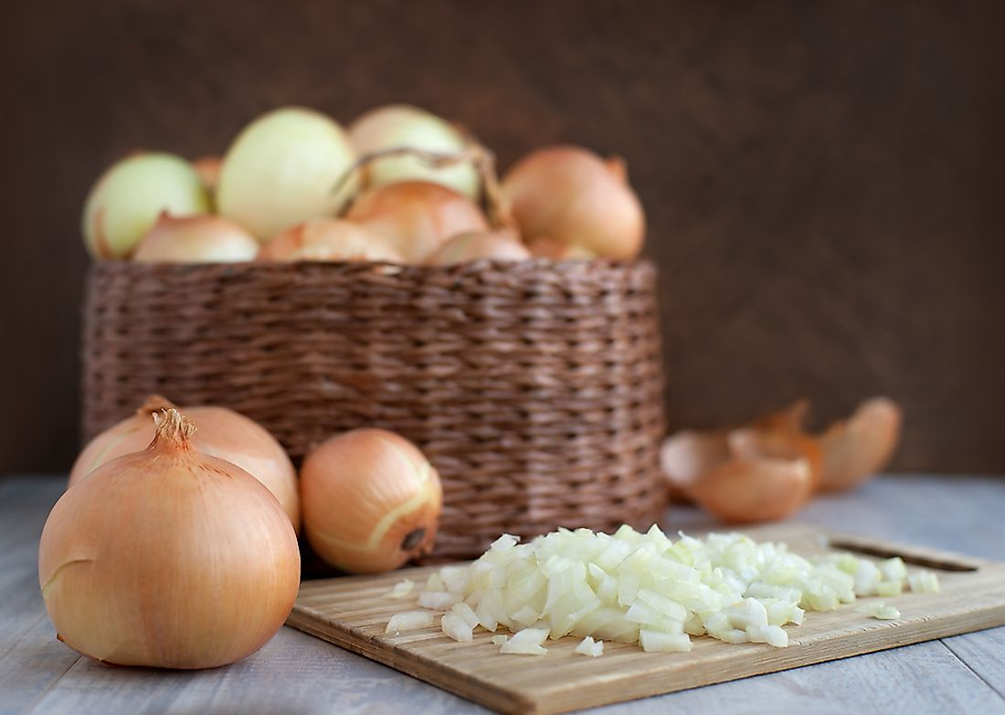 Onions are an important ingredient in many cuisine types.