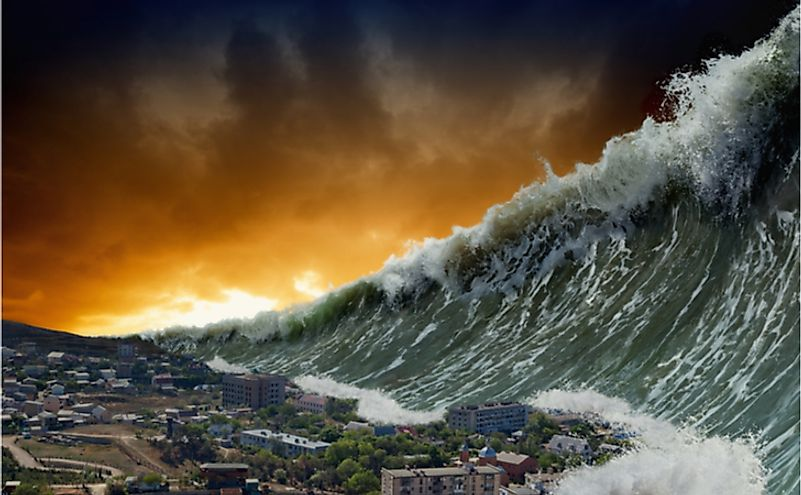 Tsunamis are highly destructive in nature and can engulf entire cities in a matter of few hours.