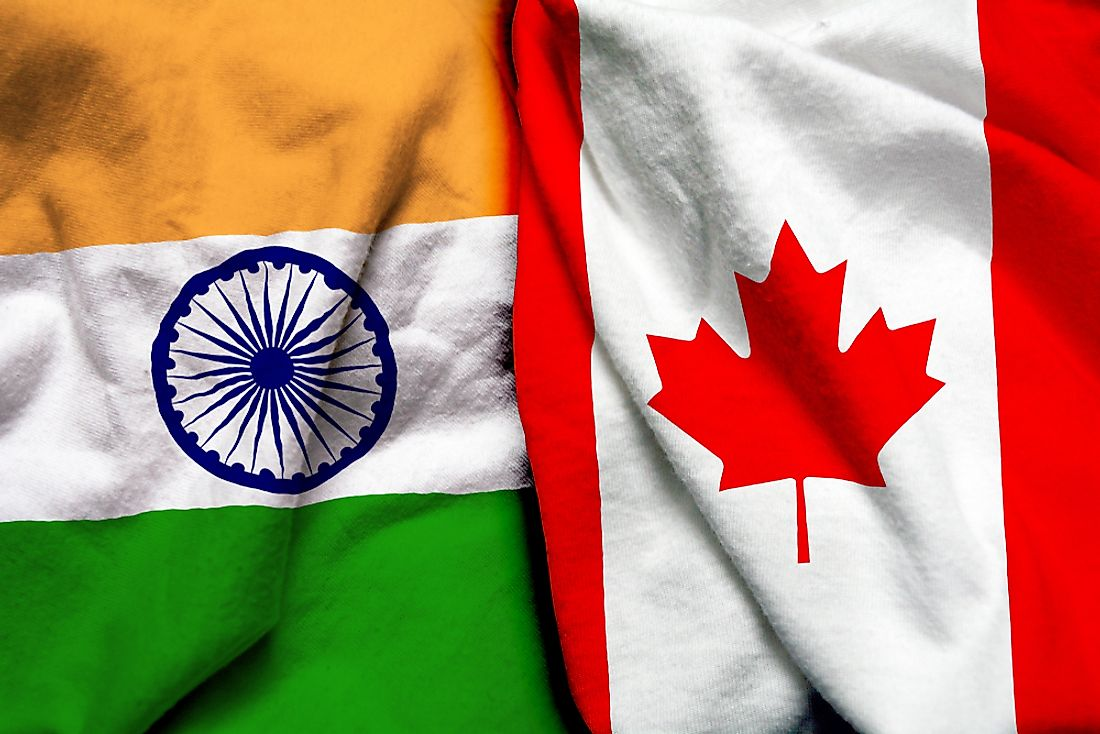 Indo-Canadians refer to people from India living in Canada.