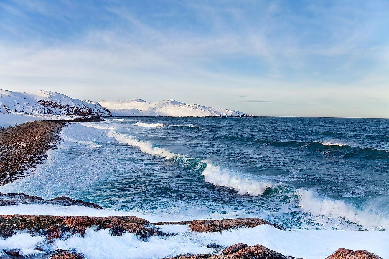 The Barents Sea.