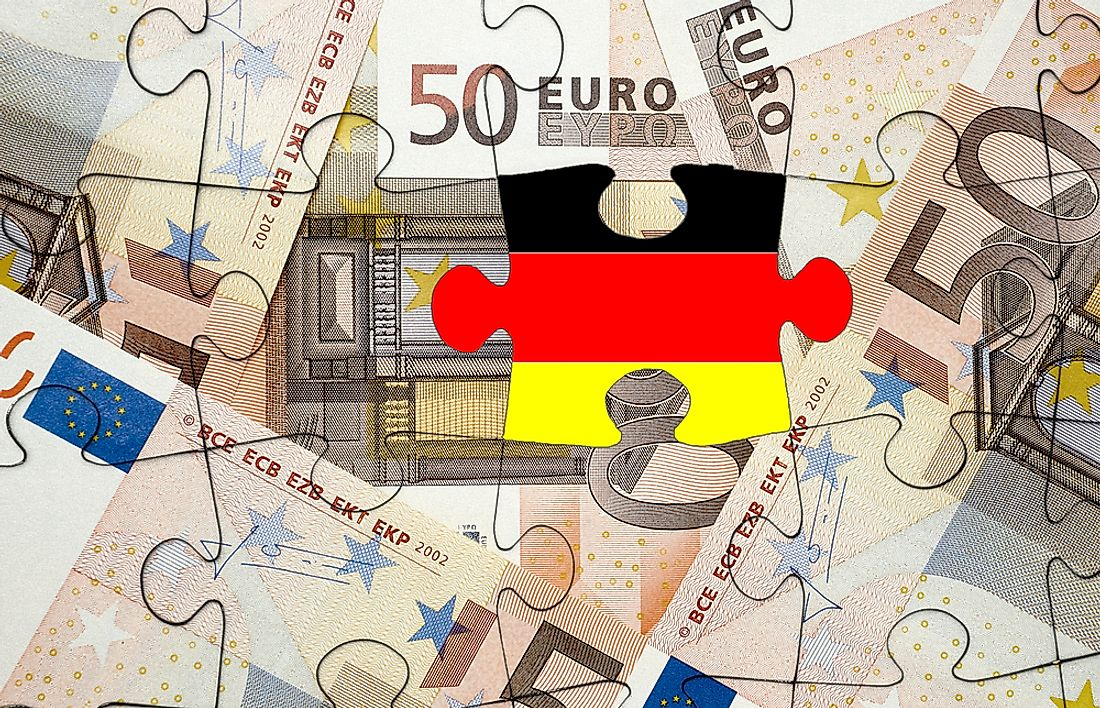 Germany, the fourth strongest economy in the world, is the strongest economy in Europe.