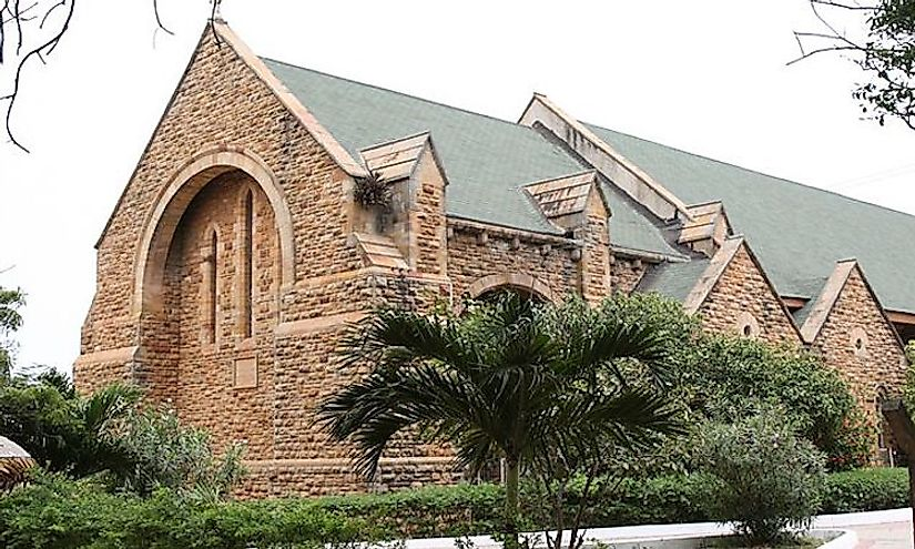 Anglican Holy Trinity Cathedral, Accra, Ghana