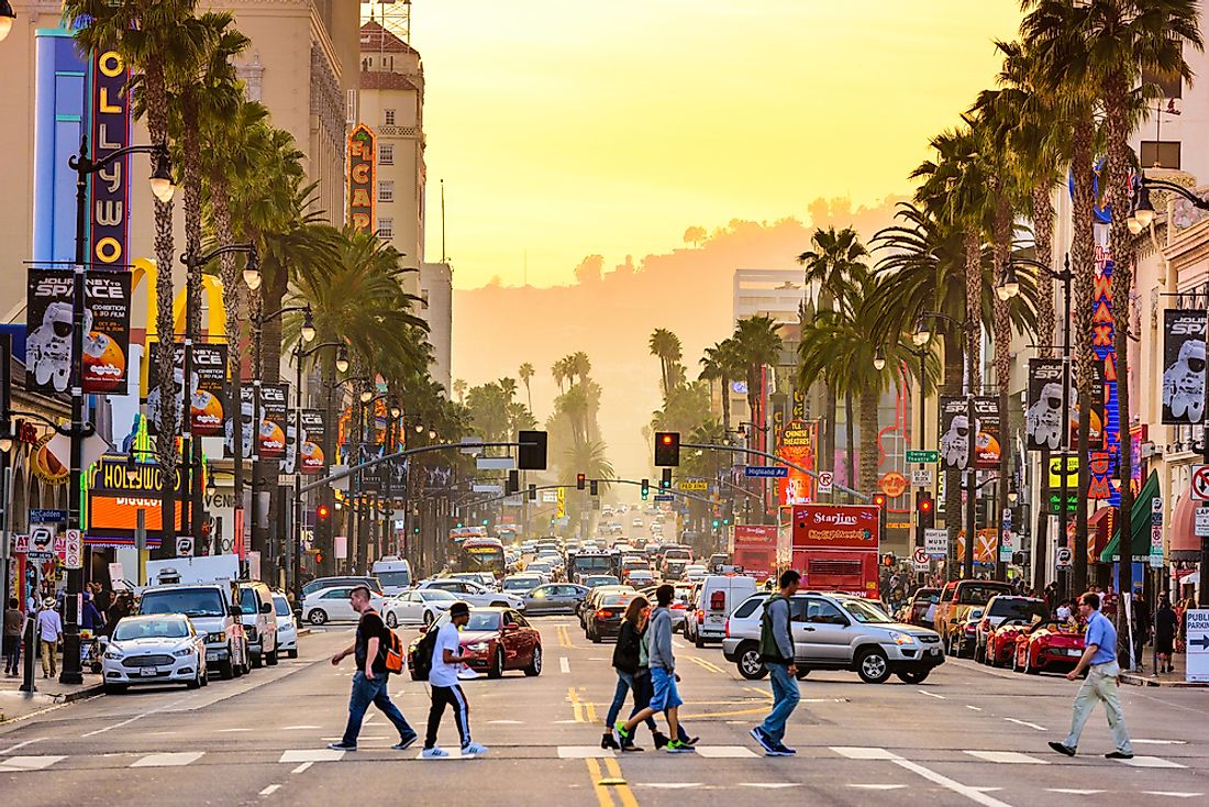 Los Angeles is one of the most visited cities in the United States. Editorial credit: Sean Pavone / Shutterstock.com.