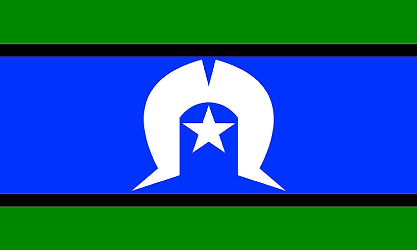 The flag of the Torres Strait Islanders.