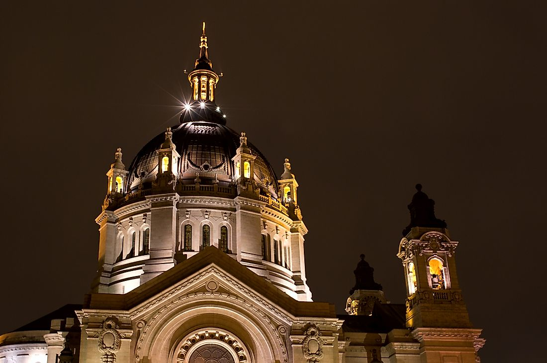 Saint Paul Cathedral in Minnesota.