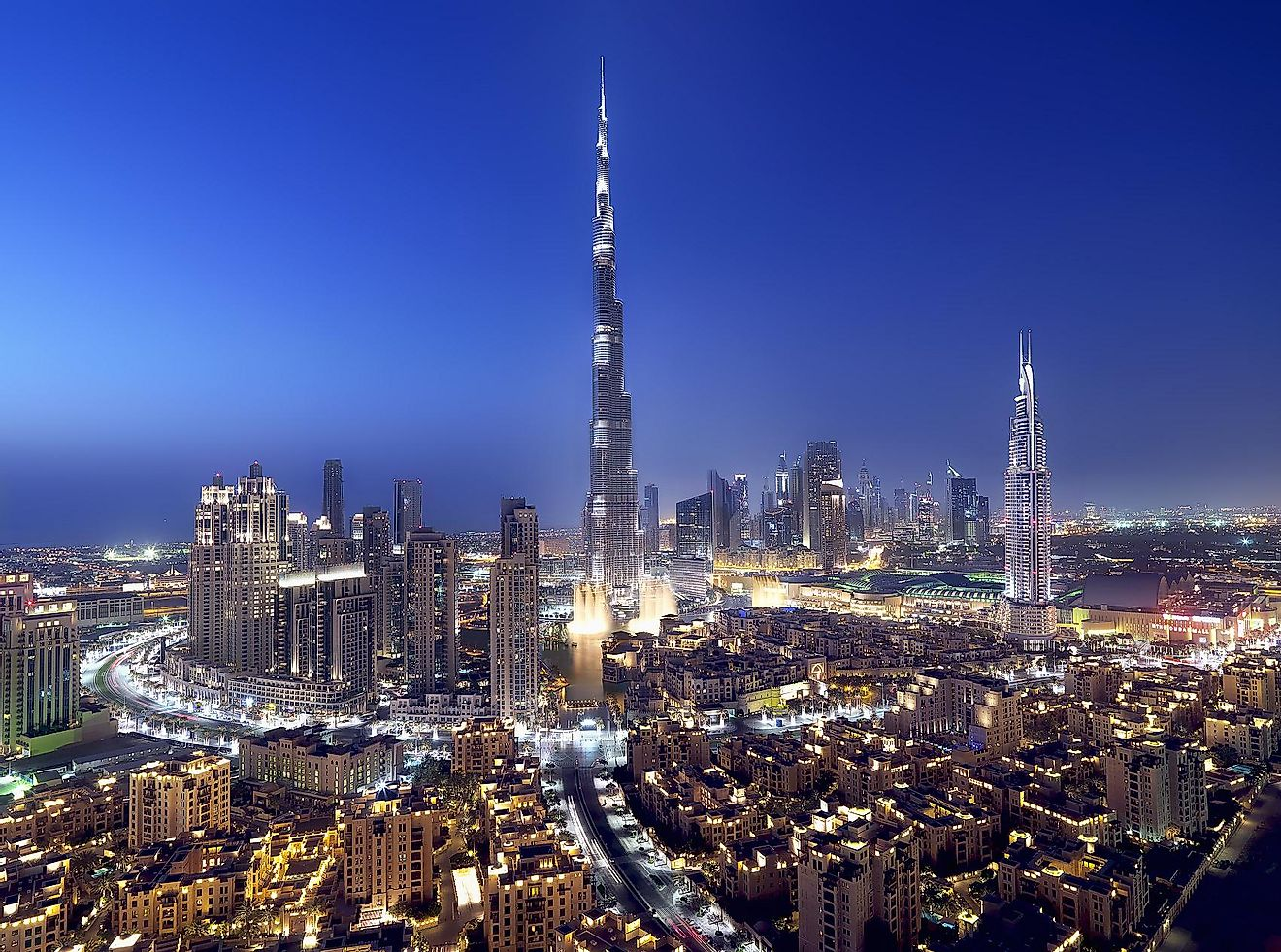 The Burj Khalifa in Dubai is the most popular tourist attraction in this cosmopolitan city.