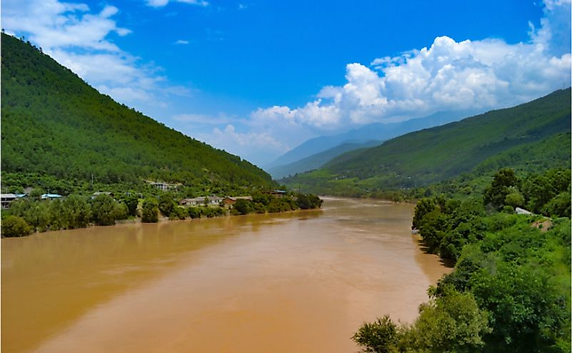 Yellow River in China.