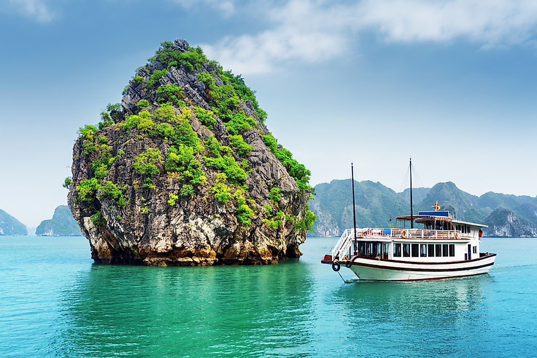 Tourism plays a significant role in the economy of Vietnam.