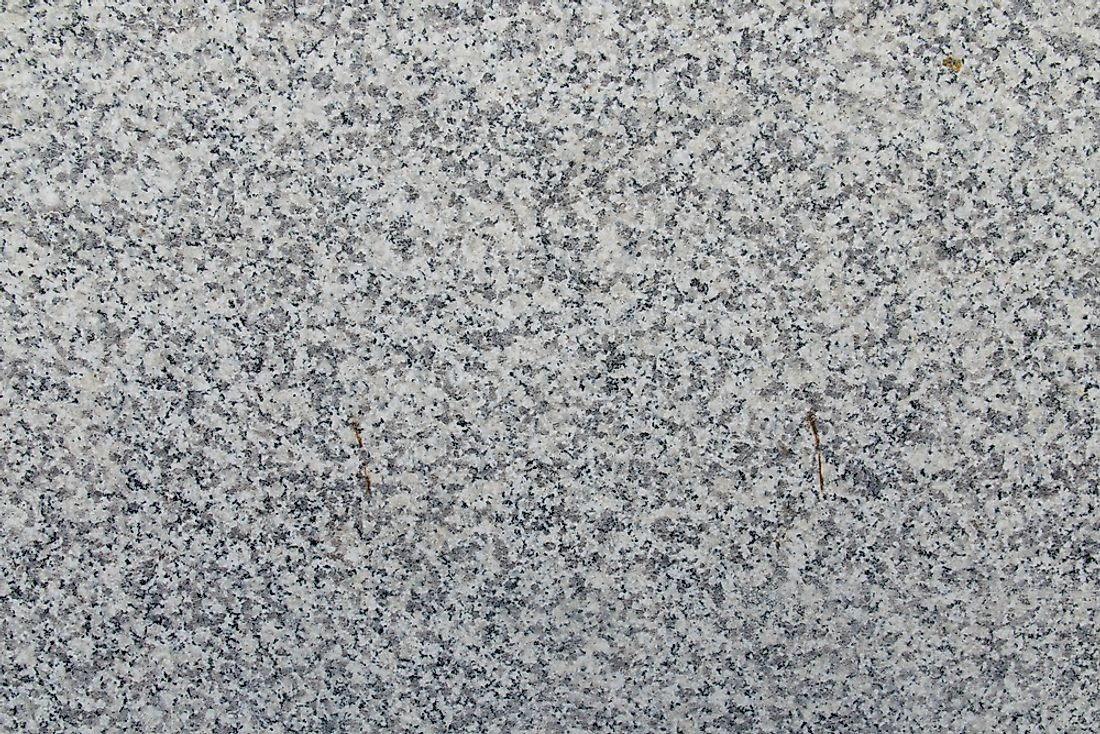 Granite has been used in a variety of applications for millenia. Polished granite (pictured) is commonly used for countertops, floors, and other interior surfaces.