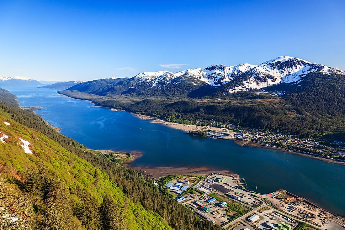 Juneau, Alaska has a larger land area than any other state capital.