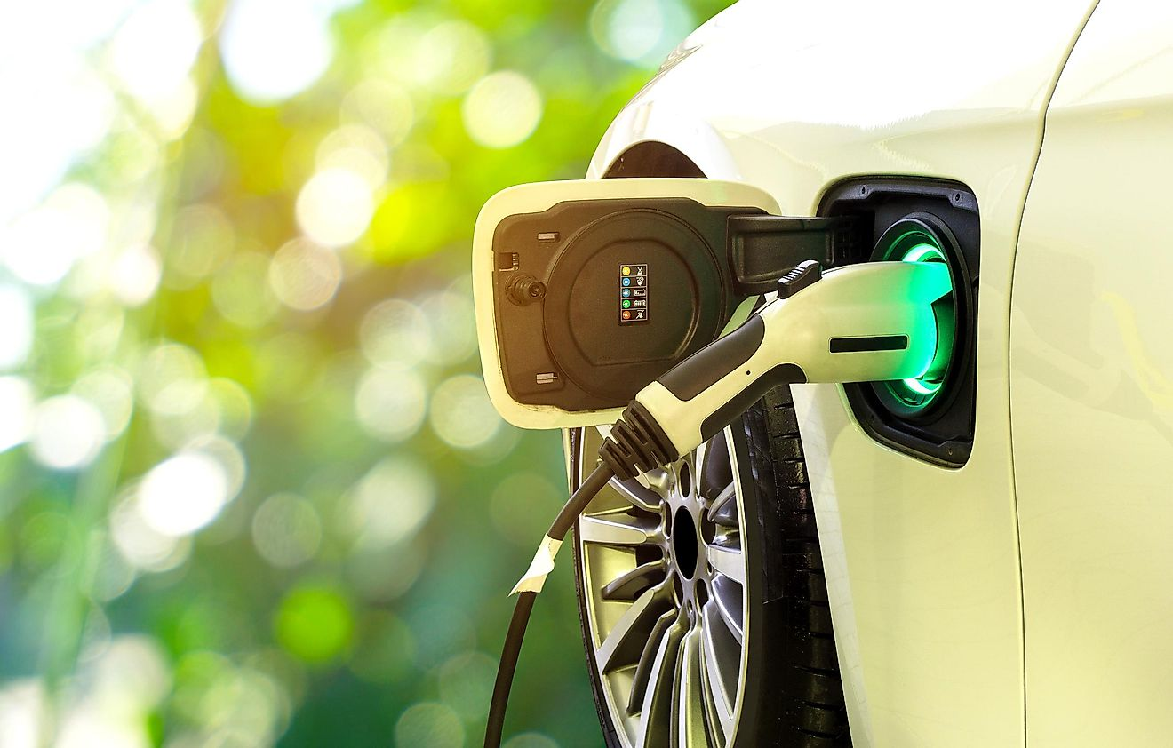 Some electric vehicles can take up to 20 hours to charge.