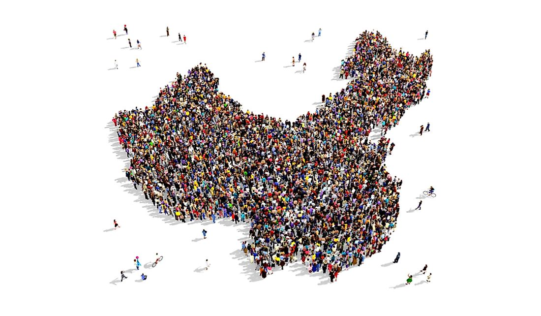 China is the most populous country in the world.