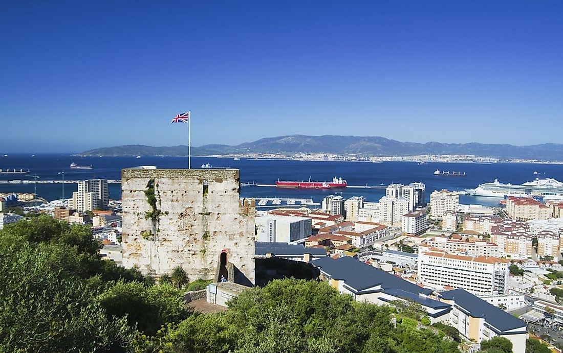 Gibraltar is a protectorate of Britain.