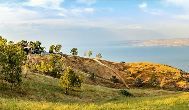 The Galilee Mountains in Israel.