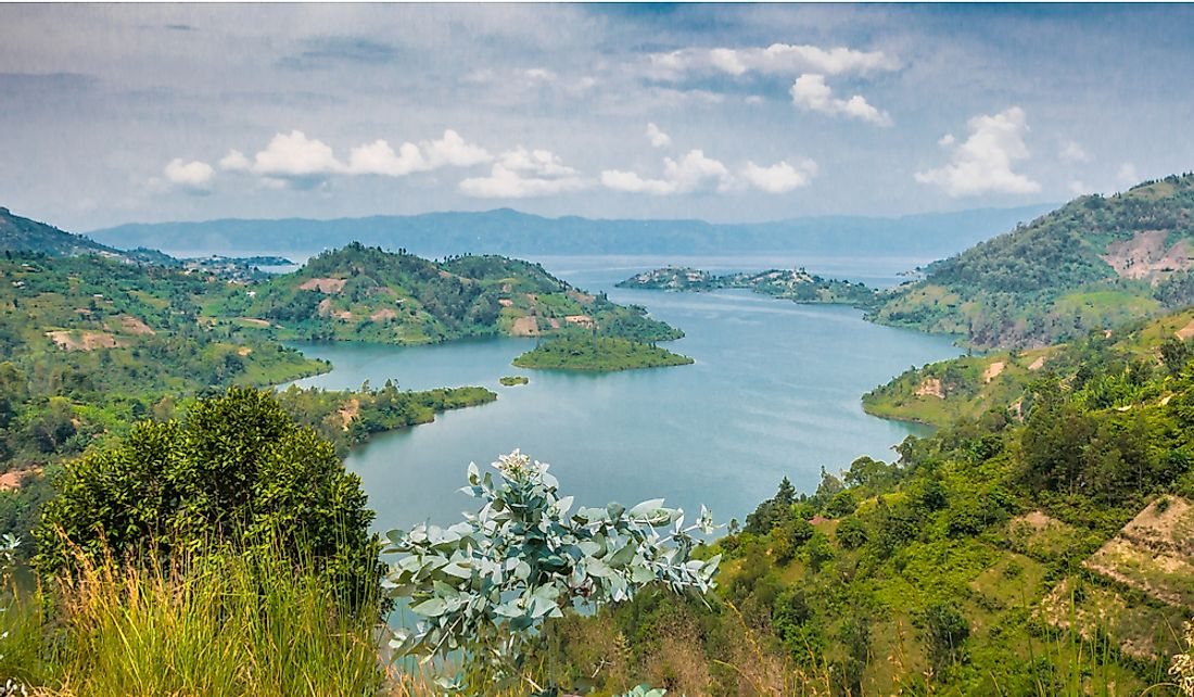 Lake Kivu is Africa's eighth largest lake.